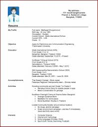 22 how to make a cv for high school students sendletters info my resume online portfolio