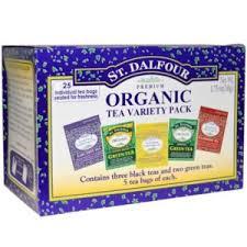 <b>Чай</b> St. Dalfour <b>Organic Tea</b> Variety Pack, <b>25 Tea</b> Bags - «Любимая ...