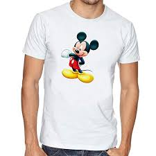 LIMIT <b>Fashion Store</b> - Mickey Mouse <b>Cartoon</b> Printed Unisex T-Shirt ...