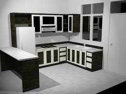 Black White Kitchen Designs Kitchen Cabinets Black And White
