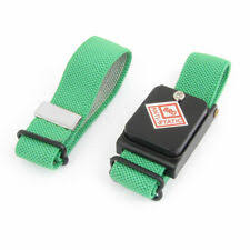 Green <b>Cordless Wireless Anti Static ESD</b> Discharge <b>Wristband Wrist</b> ...