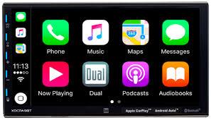 "Dual Electronics XDCPA9BT - <b>7</b>"" Double DIN In-Dash Car Stereo ..."