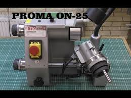 <b>Станок для заточки</b> инструмента PROMA ON-25 - YouTube