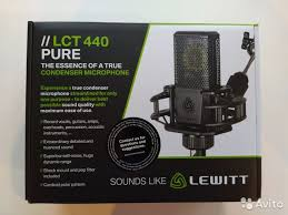 <b>Lewitt</b> LCT440 Pure новый <b>студийный микрофон</b> купить в ...