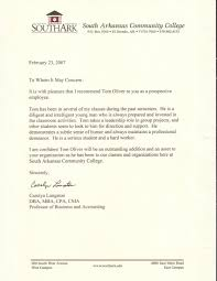 reference letter professional references tom oliver cv reference letter 4504
