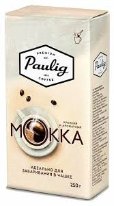 Кофе молотый Paulig <b>Mokka</b> для заваривания в <b>чашке</b> — купить ...