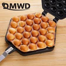 DMWD <b>QQ Egg Bubble Cake</b> Baking Pan Mold Eggettes Iron ...