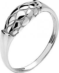 <b>Кольцо коллекции Totem</b> Snake/Змея из белого золота ...