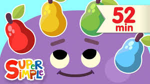 <b>Red Yellow Green Blue</b> | + More Kids Songs | Super Simple Songs ...