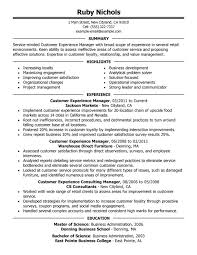 Executive Resume Service  executive customer service resume