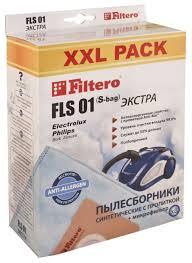 <b>Filtero Мешки</b>-<b>пылесборники FLS</b> 01 XXL Pack Экстра — купить ...