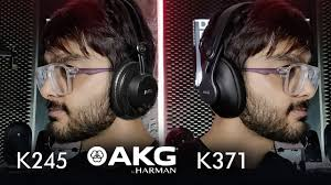 Geeked out the <b>AKG K245</b> & K371 Headphones | First Look | Review