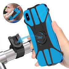 <b>Leehur</b> Bicycle <b>Phone Holder 360</b>° Adjustable Bandage Mobile ...