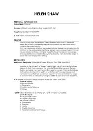 examples of best resumes cipanewsletter good resume examples