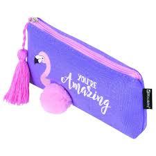 Купить <b>Пенал</b> без наполнения <b>Brauberg Flamingo</b> (229001) в ...