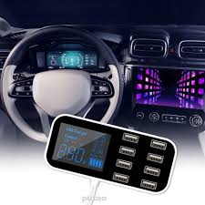 Desktop Mobile Phones Portable Mini Travel Safety Digital Display 8 ...