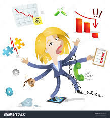 business s multi task icon clipart clipartfest vector illustration of a blond
