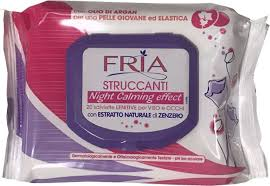 <b>Fria Влажные салфетки</b> для снятия макияжа Struccanti Calming ...