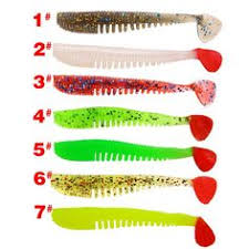 <b>HISTOLURE 6Pcs</b>/<b>lot</b> Soft Lures 8.5cm 4.5g Shad Worm Swimbaits ...