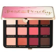 <b>Too Faced Just</b> Peachy Velvet Matte Eye Shadow Palette – Peaches ...