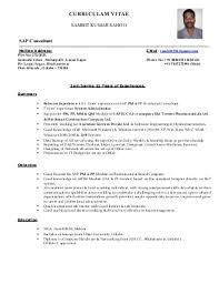 SAMBIT Resume SAP PM  amp  PP Consultant