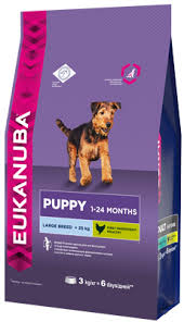 <b>Сухой корм Eukanuba Puppy</b> Large Breed