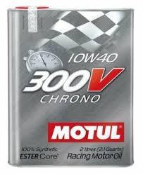 <b>Моторное масло Motul 300V</b> Chrono 10W40 2 л — купить по ...