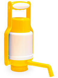 <b>Помпа водяная ручная</b> Aqua Work Dolphin Eco Yellow - Чижик