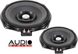 <b>Audio System Ax 08</b> BMW Evo 2 Subwoofer 20cm Compatible with ...