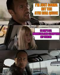 The Rock Driving Meme - Imgflip via Relatably.com