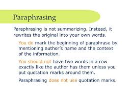 essay paraphrasinghow to paraphrase in an essay mla   essay topics how to paraphrase in an essay