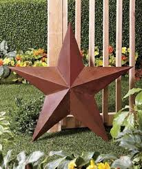 metal star wall decor: rustic metal star wall decor large  inch americana rustic metal star wall decor hand crafted
