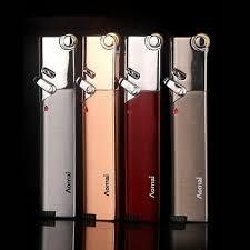 <b>Torch Turbo Lighter</b> Compact <b>Jet Lighter Gas</b> Strip <b>Windproof</b> Metal ...