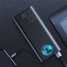 <b>Baseus</b> Amblight <b>30000mAh Power Bank</b> 33w USB C PD Quick ...