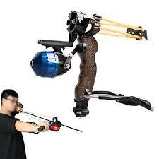 <b>1 Set</b> Fishing <b>Slingshot</b> Catapult Bowfishing Vessels <b>Arrow</b> Brush ...
