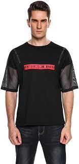 Yunisu <b>Men</b>'s Fashion Short Sleeve Stripe Painting <b>Large Size</b> ...