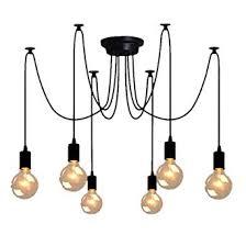 E27 Loft <b>Antique</b> Chandelier Modern Chic Industrial <b>Dining Light</b> ...