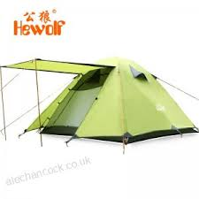 ultralight outdoor hiking tent double layer one room two hall 210t taffeta waterproof camping shelter super large size