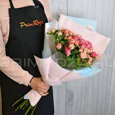 <b>Bouquet</b> of spray <b>roses</b> #R00482 доставка цветов