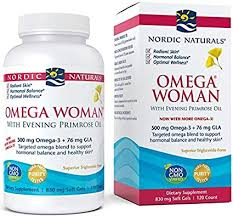 Nordic Naturals Omega Woman, Lemon - 120 Soft ... - Amazon.com