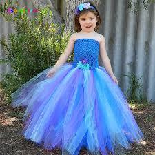<b>Ksummeree</b> Girls Pretty <b>Peacock Tutu Dress</b> with Headband Kids ...