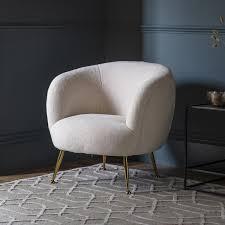 Ewano <b>Tub Chair Faux</b> Sheepskin | Gallery Direct
