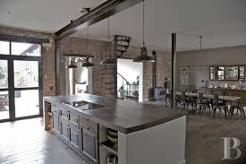 gallery modern kitchen industrial style