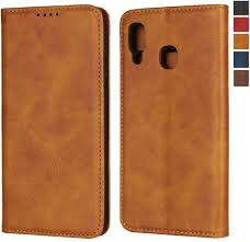 iMangoo Folio Cover for Galaxy A20 Case Galaxy A30 <b>Wallet Case</b> ...