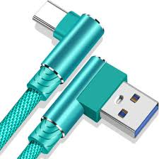 <b>OLAF</b> 90 Degree Elbow Micro USB <b>Type C</b> Fast Charging Cable for ...