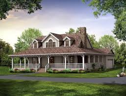House Plan With Wrap Around Porch And Basement   Home Design IdeasHouse Plan With Wrap Around Porch One Floor