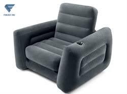 <b>надувное кресло</b>-трансформер pull-out chair. <b>intex 66551</b>.