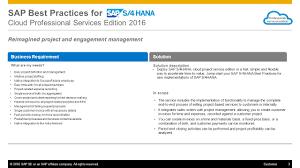 sap best practices for sap s 4hana scope 1603 cloud professional 3