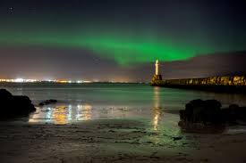 Image result for northern lights from lossiemouth