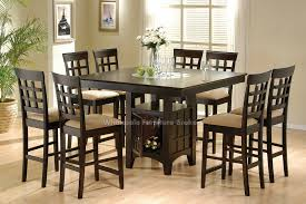 quality small dining table designs furniture dut: dining room table height square black stained wooden table with small storage amazing of dining room